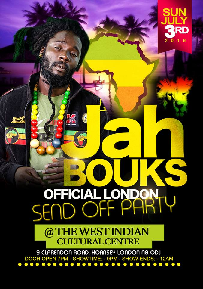 JAH BOUKS AND FRIENDS LIVE IN CONCERT